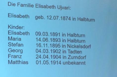 Familie Ujvari aus Halbturn