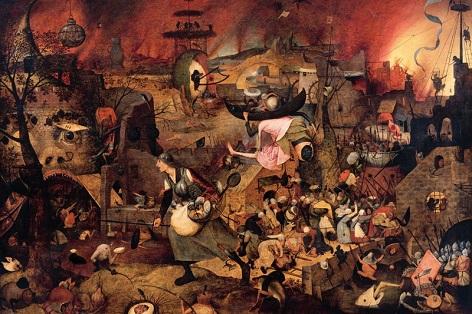 Bláznivá Markéta, 1562 (?), Pieter Bruegel