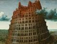 Babylonská věž, po r. 1563, Pieter Bruegel starší