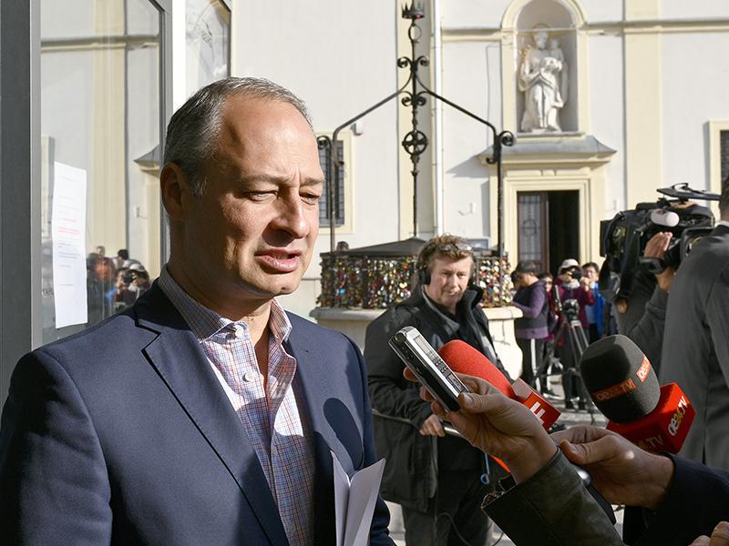 Andreas Schieder anl. einer SPÖ-Präsidiumssitzung am Sonntag 07. Oktober 2018 in Wien
