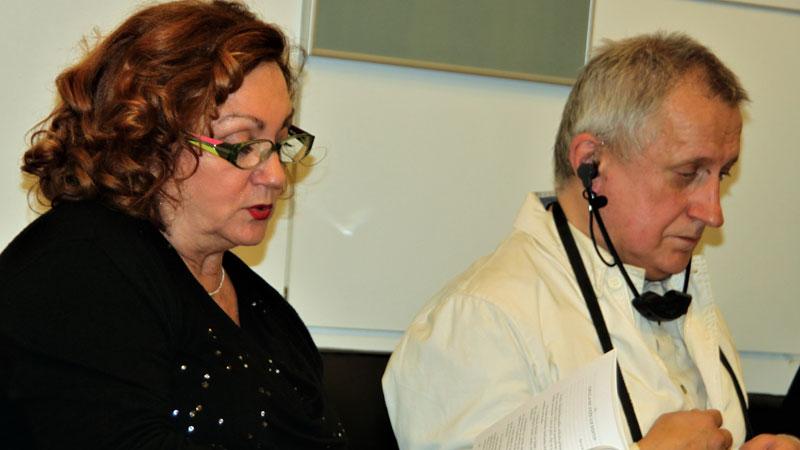 Jasminka Domaš i Sead Muhamedagić razgovor o romanu Edith Stein