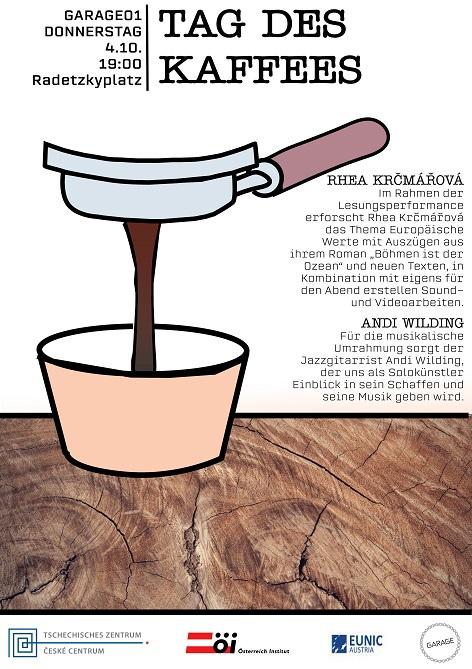Den Kávy Rhea Krčmářová