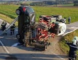 Pkw gegen Traktor