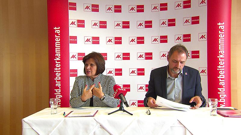 Renate Anderl und Gerhard Michalitsch