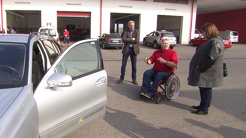 ARBÖ-Behindertenberater Roland Hirtl