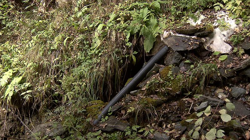 Aufgezeigt Quelle Wassergemeinschaft