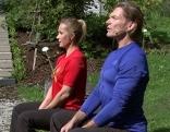 Doresia Krings und Michael Mayrhofer in Fernsehgarten
