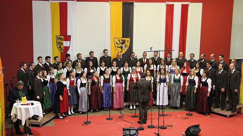 Chöre erste Vorentscheidung 11 Oktober Chor der Kärntner in Graz