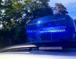 Polizei Polizist Blaulicht VKU Unfall Verkehrsunfall Raum Diebstahl