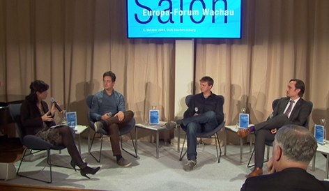Salon Europa Forum Wachau Auftakt Technologisierung