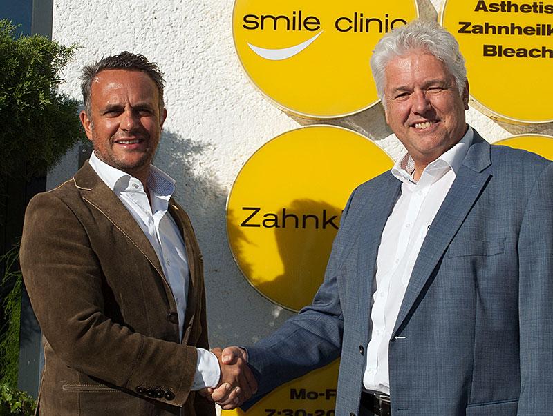 Dr. Sehdi Sarmini und GKK-Obmann Andreas Huss