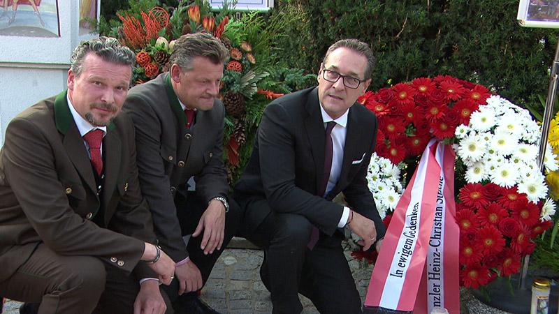 10 Oktober Volksabstimmung Gedenken Haider Todestag Strache