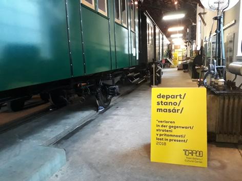 Ausstellung DepArt im Eisenbahnmuseum Schwechat