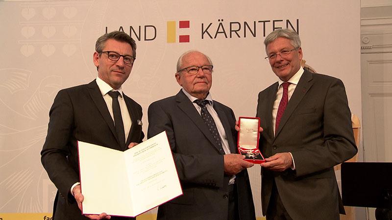 Alois Brandstetter Verleihung Ehrenzeichen Land Kärnten