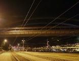 Eichstraßenbrücke über die Eisenbahngleise in Salzburg Gnigl bzw. Schallmoos
