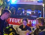 Baden Feuerwehr Einsatz Evakuierung Wohnung