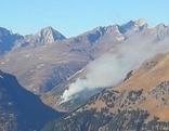 Waldbrand Defereggental