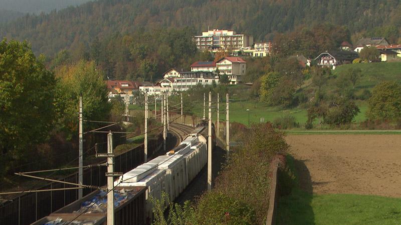 Bahnlärm Treffen Pörtschach