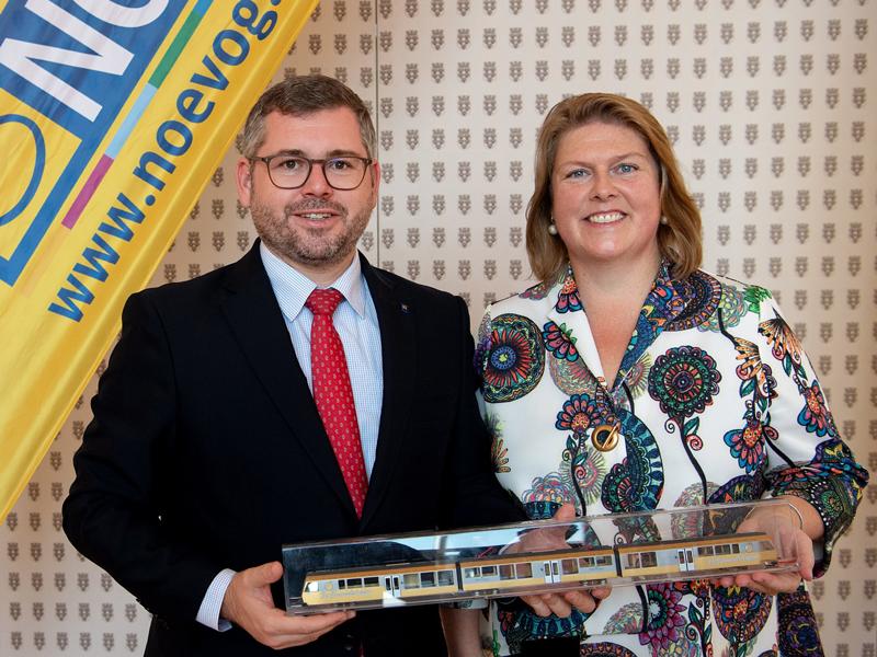 Ludwig Schleritzko und Barbara Komarek  NÖVOG