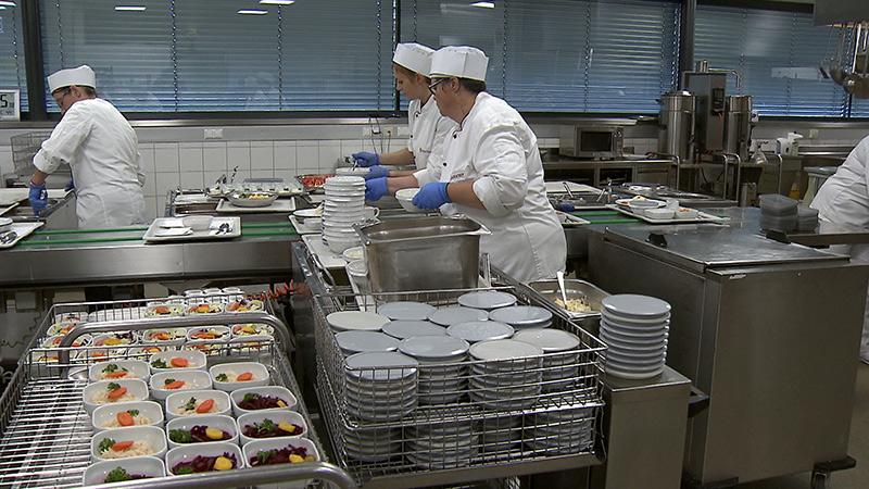 Krankenhaus barmherzige Brüder Herkunft Lebensmittel Essen