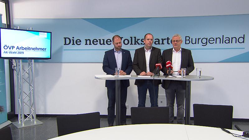 Christian Sagartz, Johannes Mezgolits und Thomas Steiner