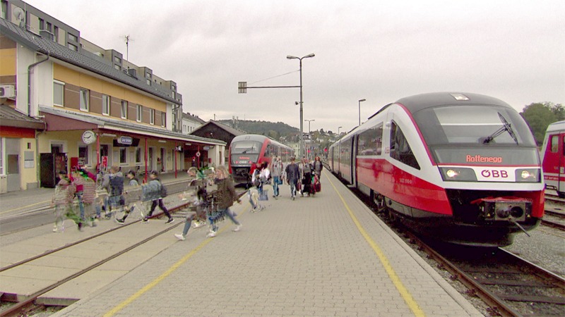 Mühlkreisbahn Bahnhof Rottenegg