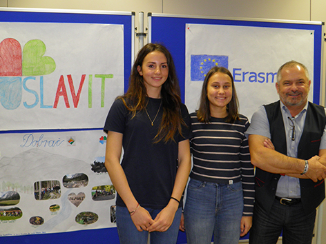 Projekt Slavit Slo gimnazija Kuchling naravoslovnje