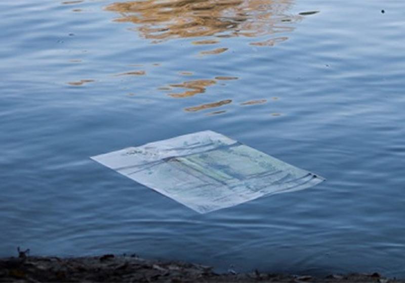 Aquarell im Wasser
