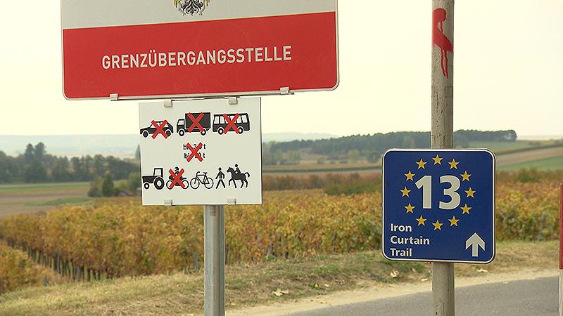 Grenze, Fahrverbote, Schilder