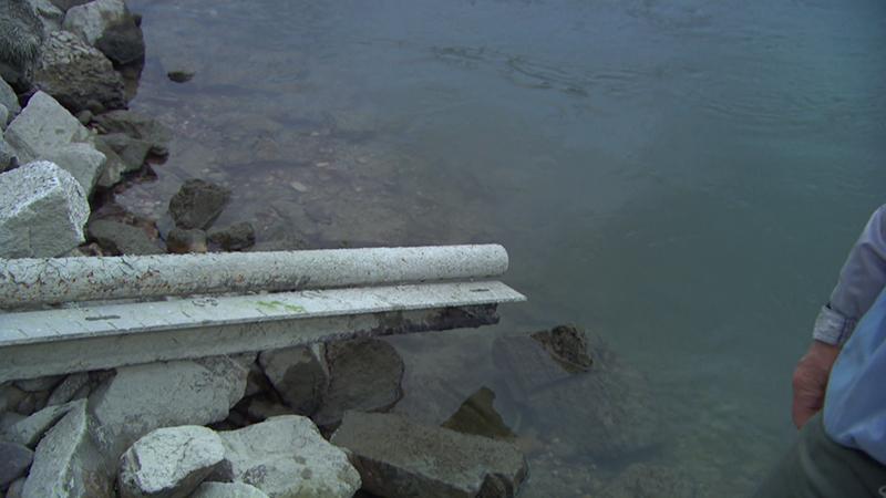 Donau Niedrigwasser
