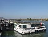 Schiffe Reichsbrücke