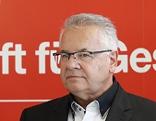 Michael Schickhofer (SPÖ), der neue Landesgeschäftsführer Günter Pirker und der stv. Landesgeschäftsführer Wolfgang Moitzi