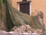 Mauer Mülln Sanierung Kirche eingestürzt