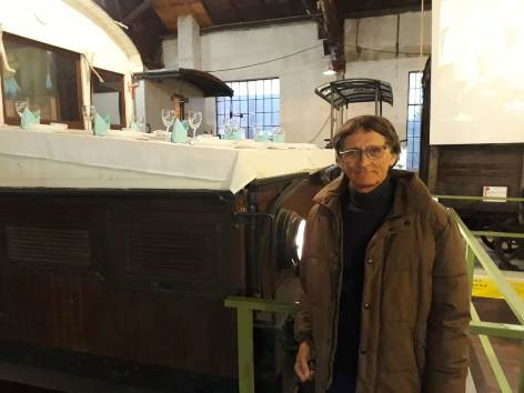 Otis Laubert bei DepArt Ausstellung  | Eisenbahnmuseum Schwechat