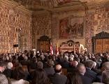 Feier 100 Jahre Österreich Wappensaal