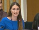 Natalie Haas vertritt Österreichische Jungend bei den Vereinten Nationen