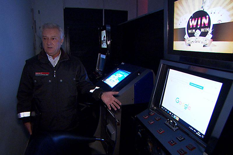 Glücksspiel Automaten Razzia