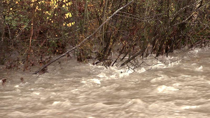 Hochwasser Unwetter Sachsenburg