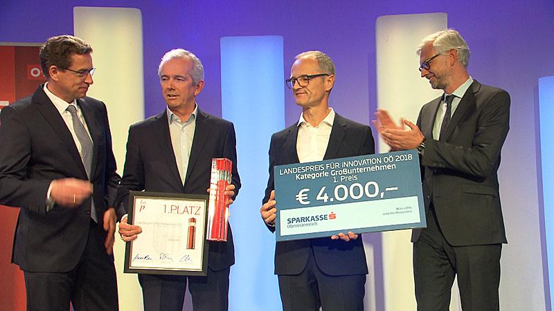 Innovationspreise des Landes verliehen