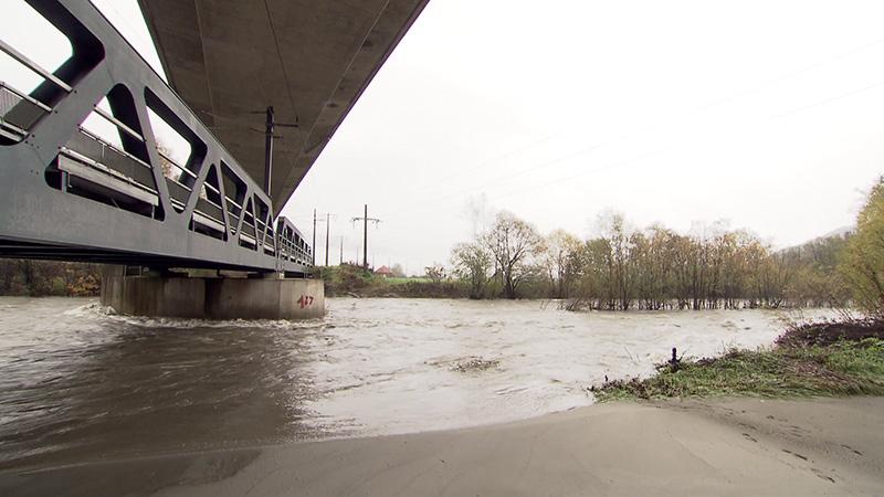 Möllbrücke Hochwasser Möll