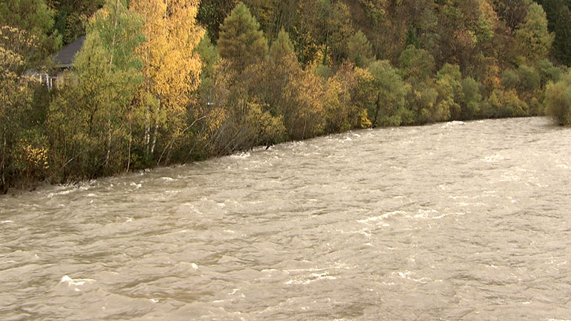 Hochwasser Möllbrücke