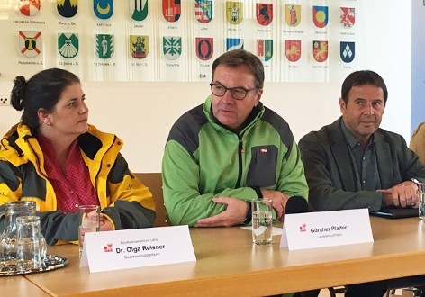 Pressekonferenz Osttirol Unwetter