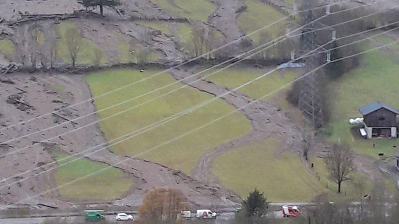 Hochwasser Unwetter Mölltal Rangersdorf