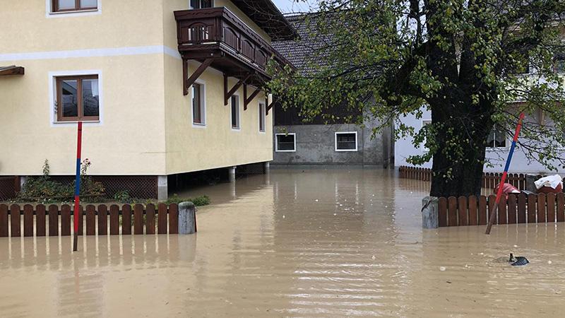 Rattendorf Gailtal Hochwasser