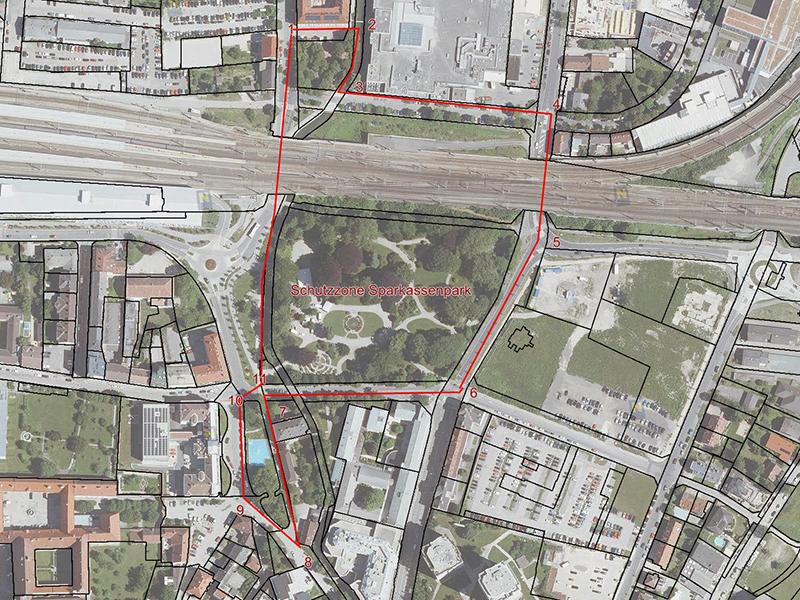 St. Pölten: Sparkassenpark wird Schutzzone