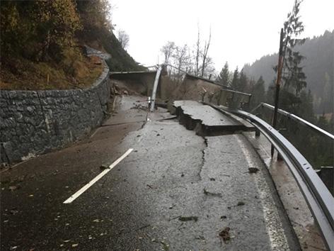 Straße zerstört Maria Luggau Lesachtal