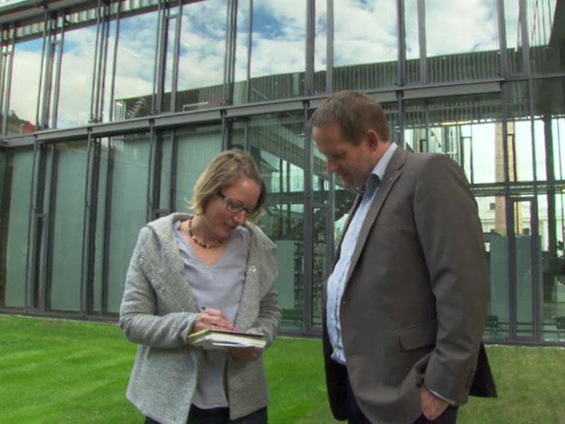 Forscher Trauninger Treytl Donau-Universität Krems