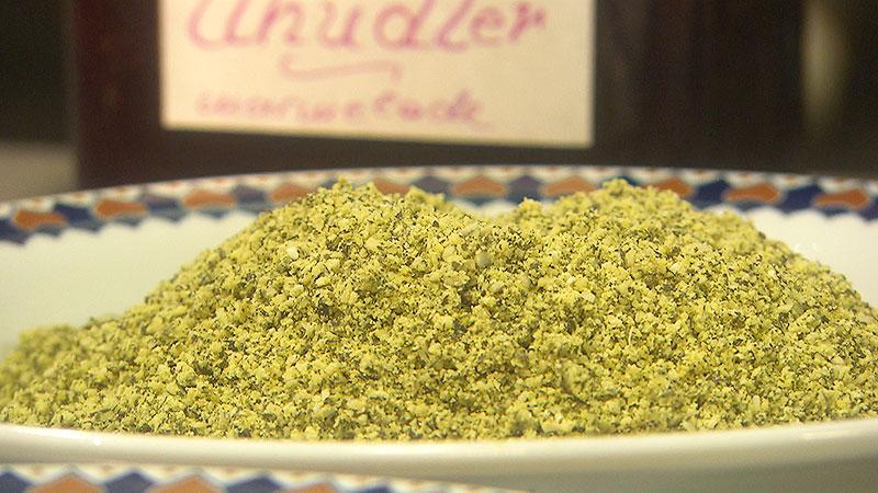 Geschmackssache Süße grüne Roulade
