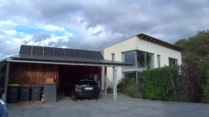 Haus Passivhaus Photovoltaik Ornding Pöchlarn