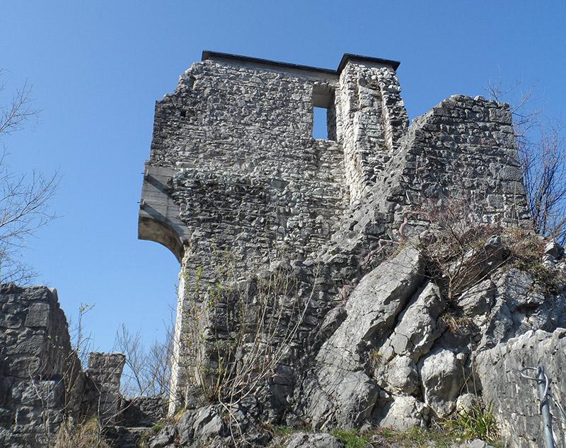 Ruine Gutrat bei Hallein